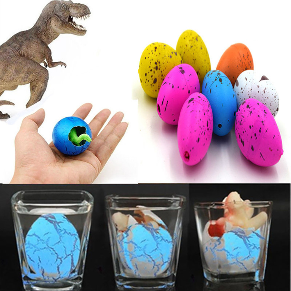 Magic dinosaurs eggs for kids educational add water growing dinosaur toy gift—QY