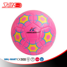 Pink Color Machine Stitched Soccer Ball In Size 5