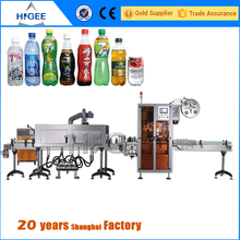 Good performance digital control shrink sleeve labeling machine class 0