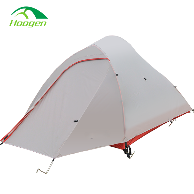 Double Layer Silicone Oil Coated Ultralight <strong>Tent</strong> Four Season <strong>Tent</strong> 2 Person