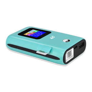 150Mbps 4g Wifi hotspot FDD TDD 4g Lte Wireless Router with 5200MAh power bank