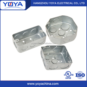 4x2 electrical metal junction box
