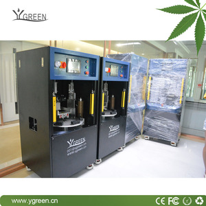 Ygreen 0.5/1.0ml Thick Oil Vape Cartridge Automatic Filling Capping Machine For Oil Viscosity