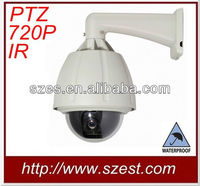 Outdoor 1.3 Megapixel CCD PTZ IR Waterproof IP Camera