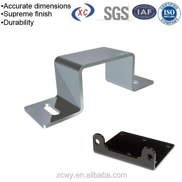 Metal Sheet Zinc Plated Bracket Galvanized Square Tube