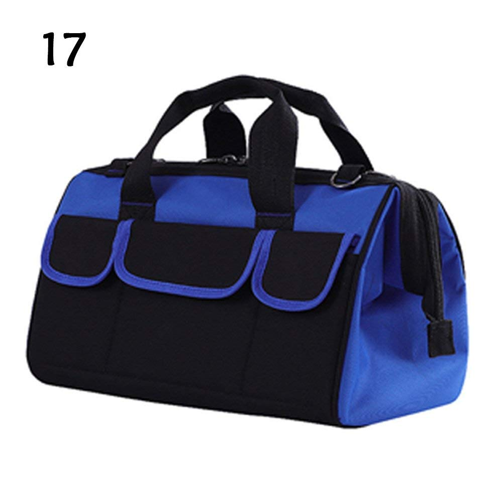 Get Quotations Wide Mouth Tool Bag Storage Oxford Waterproof Portable Household Shoulder Kit