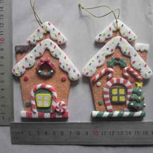 2017 Most Popular Polymer Clay Christmas Ornaments Manufactured In China