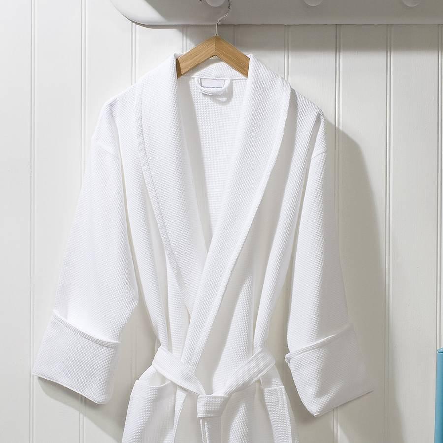Lightweight Absorbent Kimono Waffle Bath Women Girls Cotton ...