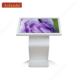 Super top 55 inch touch lcd screen rotate floor stand tablet PC kiosk for advertising or information checking