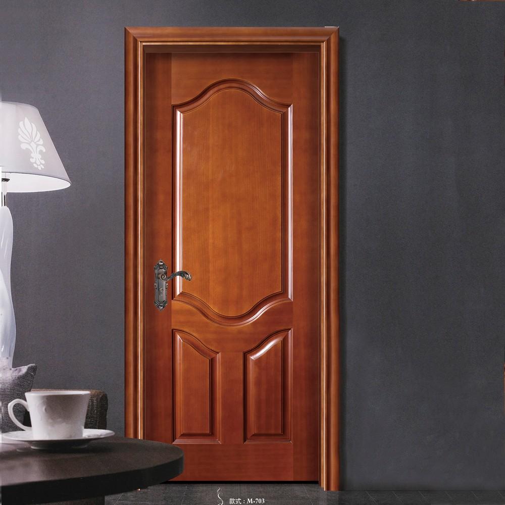 nuevo diseo entrada principal doble de madera hdf ingeniera puerta para