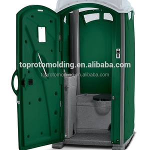 Rotomolding Portable toilet for construction site