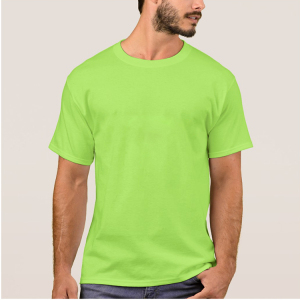 custom print mens simple design tall tee with logo