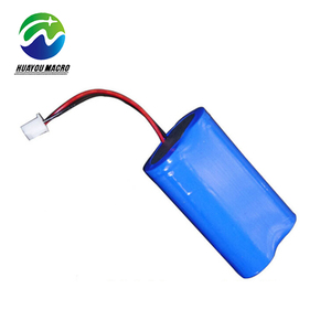 Factory 2S1P Rechargeable 18650 Li Ion 7.4V 2400Mah Li Lithium Ion Battery Pack