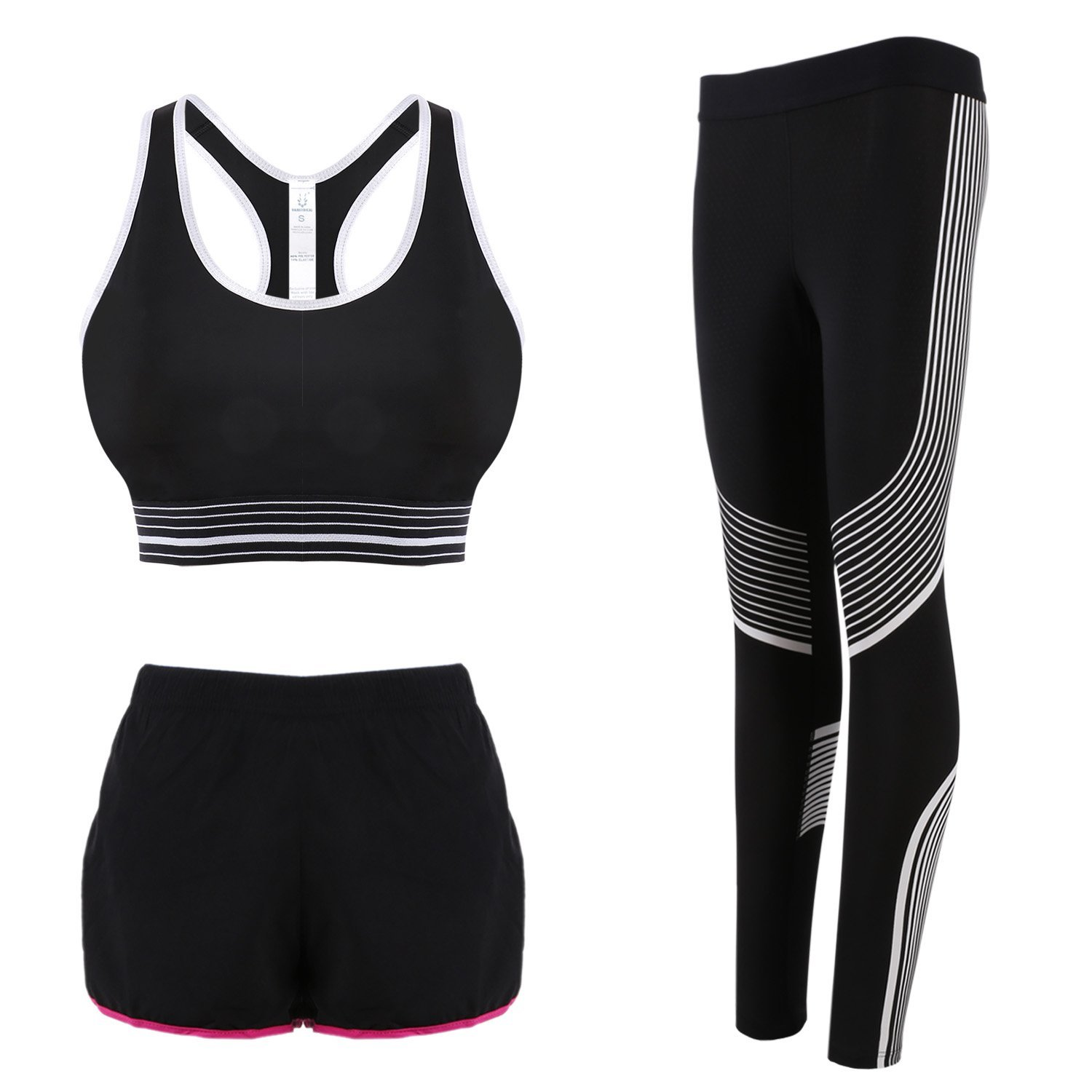 e5ef118509 Get Quotations · DAS Leben Active Pants Matching Set  Sports Bra