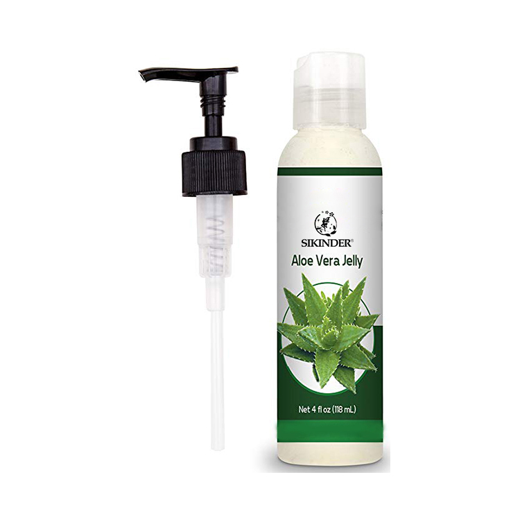 Oem private label organico aloe vera ripresa maschera gel