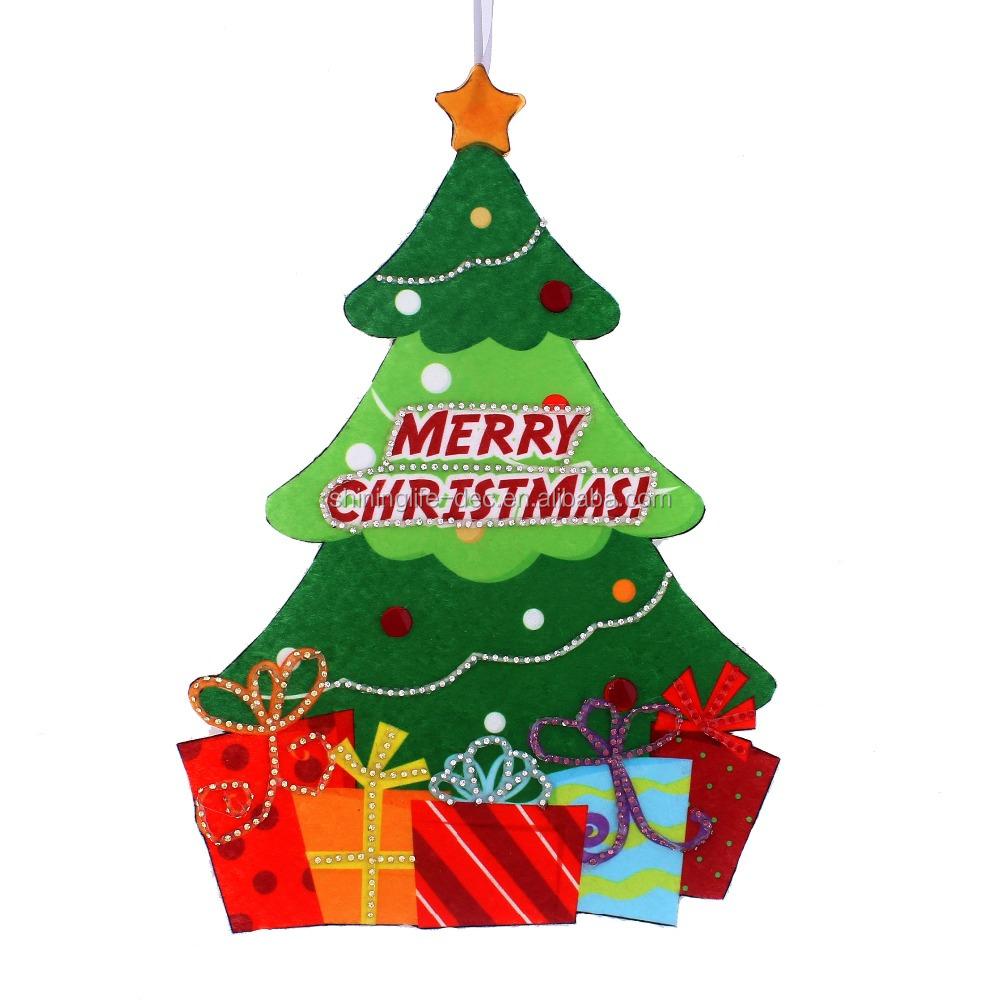 Christmas Tree Ornament No Woven