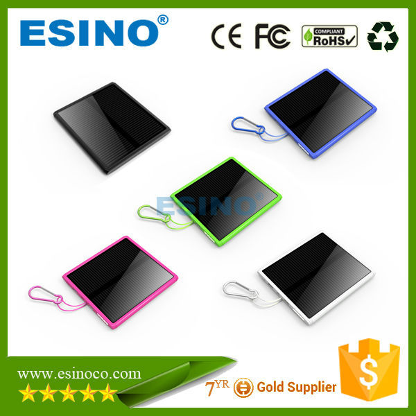 Free sample OEM/Private Label portable 15000mah Solar Panel Charger power bank for mobile phones