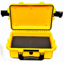 Tricases factory new style PP hard plastic tool case with custom foam for IPAD