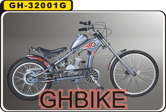 chopper motorcycle chopper gas engine bike chopper 50CC 2 stroke motorcycle