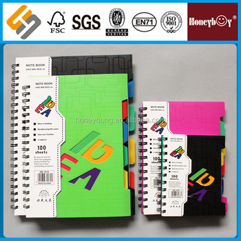 School Pages Single Line Custom Colorful Print Spiral Notebook Buy