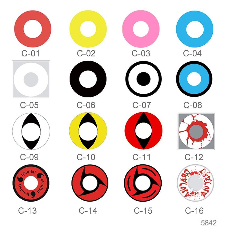 HOT SALES New Fashion wholesale wholesale color contact lens for cosplay