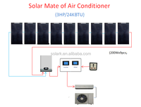 solar air con mate 2KW, good for those area with high price of electricity, less than 2 years money back