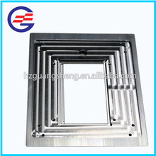 High Quality Custom Extrusion Efficiency round Bicycle accessories frame mounting rail aluminum panel for solar