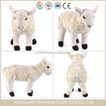 Dongguan Yuankang Plush Toys Supplier Lifelike Lamb Stuffed Animal