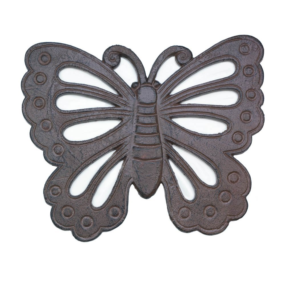 Butterfly Stepping Stone Outdoor Decor Outdoor Garden Decor Outdoor Decorations and Outdoor Patio Decor