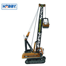 Best Selling RC Construction Crawler Crane Vehicle with 4-Channel RC Model Truck