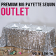 "90X132"" 90X156'' Wholesale Silver Premium Big Payette Sequin Rectangle Tablecloth For Wedding"