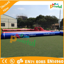 Factory price inflateable soccer playground,inflatable football field