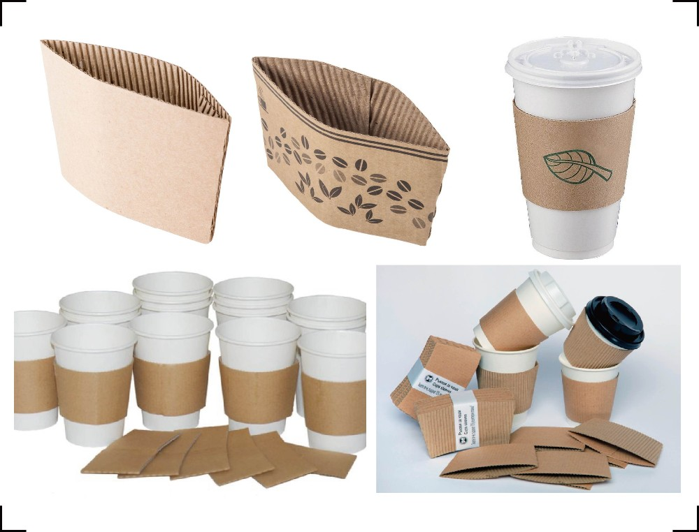 Coffee Cup Carrier Take Away Paper Holder For 1 2pcs