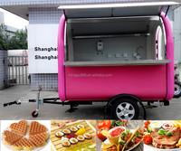 Fried Ice Cream Machine Van Food Van For Sale Fast Food Kiosk ...