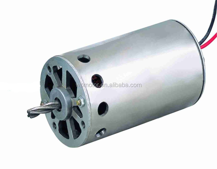 12V 6000RPM Brush motor for vacuum machine motor