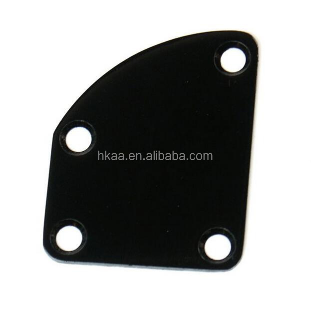 Universal Guitar Neck Plate For electrical guitar parts, Black