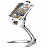 2-in-1 Kitchen Wall Countertop Desktop Tablet Mount Holder Stand For iPad Pro / Air / Mini