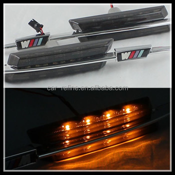 Car Accessories Led Side Marker Lamps Led Turn Signal Lights For Bmw ...