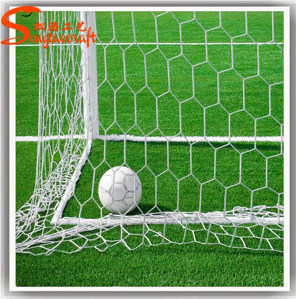 grass soccer field with goal.  Goal Synthetic Grass For Soccer FieldsFootball Artificial Used At  Schooloutdoor  Buy Football GrassArtificial Field  In With Goal