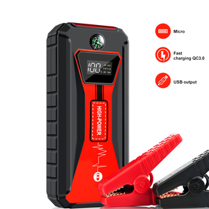 20000mA Car Battery Booster Portable Jump Starter for Gasoline/Diesel