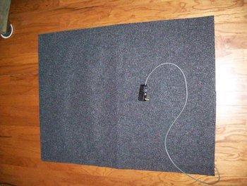 Electric Heated Carpet Mat Pad