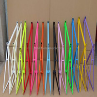 oem colorful fixie frame bicycle fixie frame fixed gear frameset
