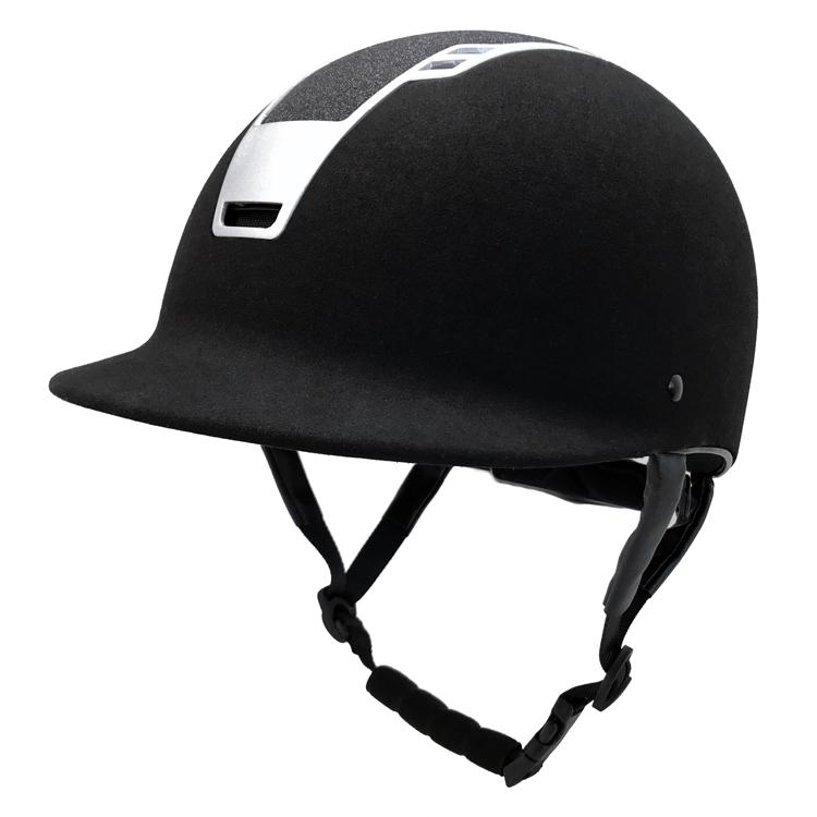 Custom-Shimmer-Black-Adjustable-Equestrian-Riding-Horse
