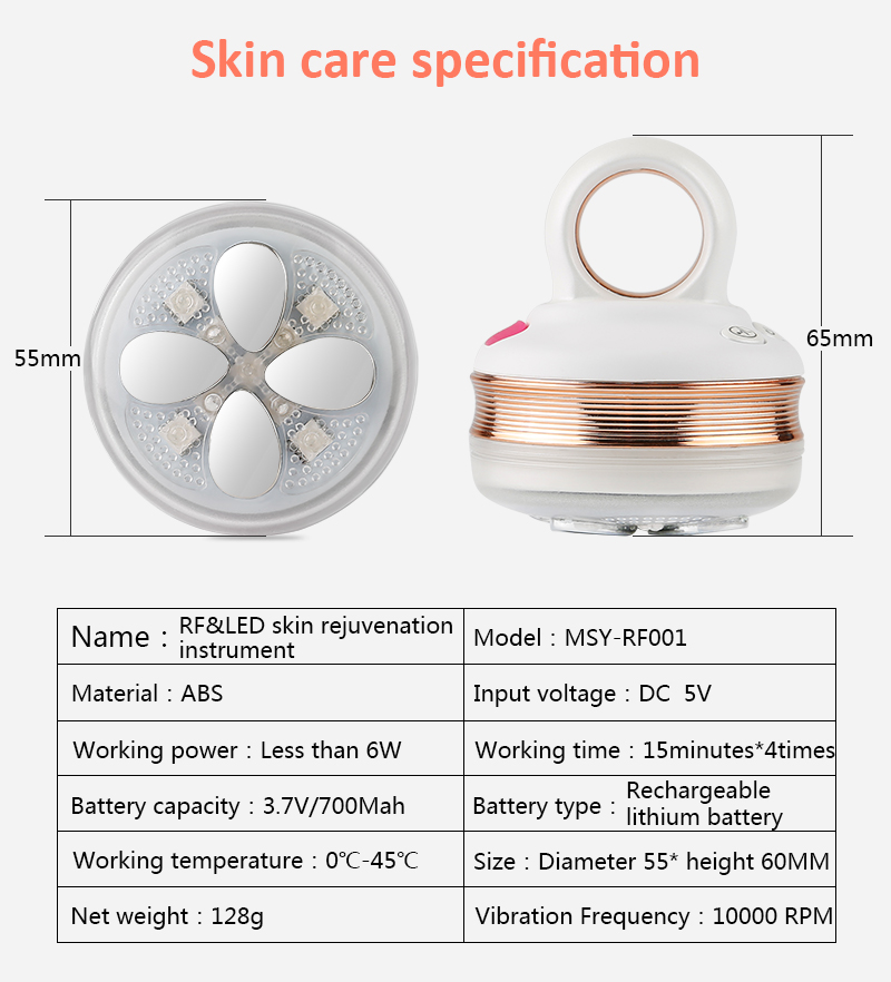 Beauty Equipment handheld beauty personal care device face care Personal Care Multifunctional Beauty Equipment Ultrasonic