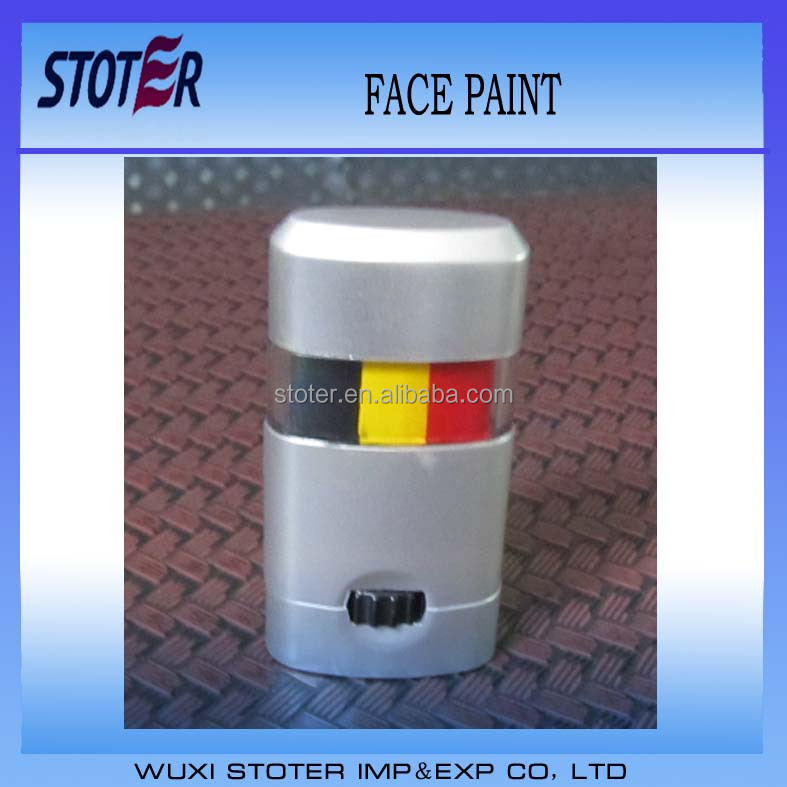 Football fans face paint , National flag color face paints , cheap face paints for sale