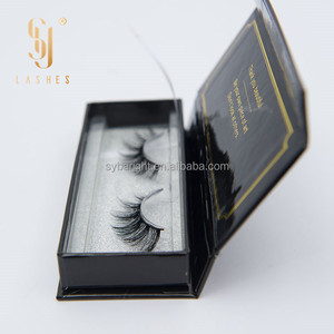 custom packaging 100% real mink fur lashes 3D belle eyelash