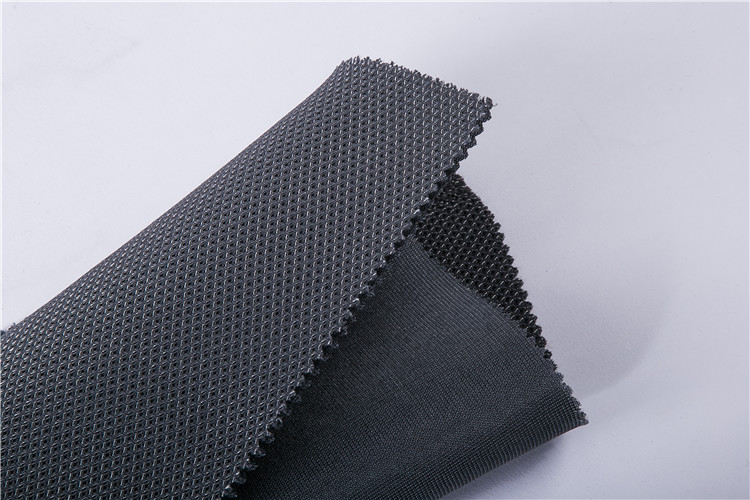 eco friendly non smell fabric polyester biodegradable viscose mesh fabric