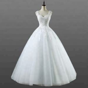 Ball Gown Wedding Dresses With Beading c70100341893