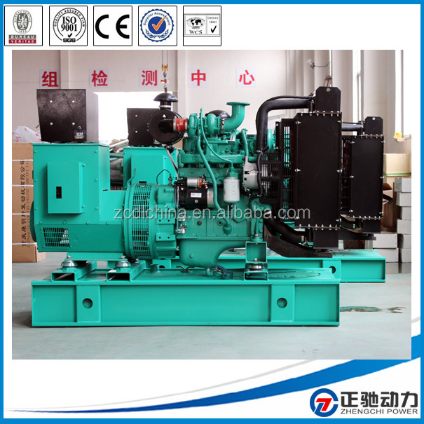 Waste oil set spare parts generator with Cummins engine