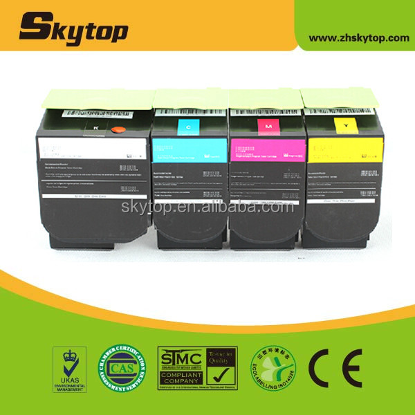 China supplier laser color toner for lexmark cs410dn toner cartridge